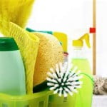Limpeza da casa com alternativas naturais